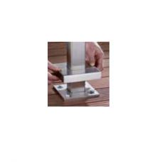 Abdeckkappe für Pfosten zum Aufdübeln