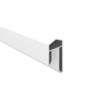 Weiss  PVC-Abdeckleiste