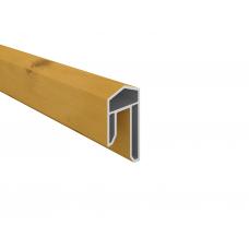 Astfichte PVC-Abdeckleiste