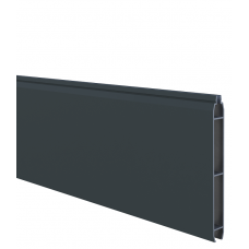Anthrazit Aluminium-Füllprofil (200 x 17 mm)