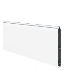 Weiss Aluminium-Füllprofil (200 x 17 mm)