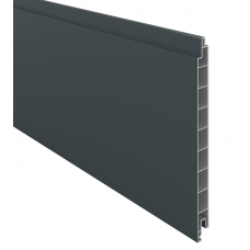 Anthrazit PVC-Füllprofil (200 x 17 mm)