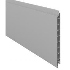 Silbergrau PVC-Füllprofil (200 x 17 mm)