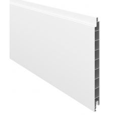 Weiß PVC-Füllprofil (200 x 17 mm)