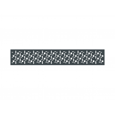 Lochblecheinsatz  Design 2
