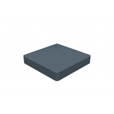Alu-Pfostenkappe Pyramide (87 x 87 mm)