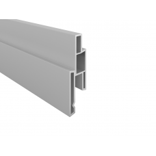 Silbergrau  PVC-Nutprofil