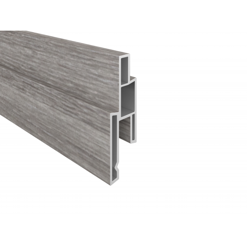 Sheffield Grau PVC-Nutprofil