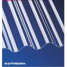 PVC-Profilplatten Sinus