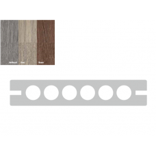 WPC Terassendielen CoEx Semi-Massiv 13,8cm breite 3/4/5m länge