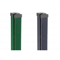 DS Premium Zaunpfosten für Steigungen, Gefälle und Schraubenloses Design