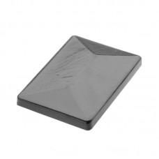 Pfostenkappe aus Aluminium für Zaunpfosten Typ P und Universal