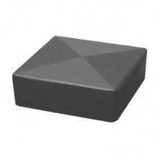 Aluminiumkappe für Torpfosten 80x80mm