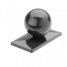 Aluminium-Abdeckkappen mit Kugel für Zaunpfosten