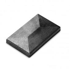 Aluminiumkappe für schraubenlose Pfosten