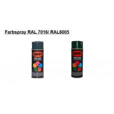 Farbspray Acrylharzlack  RAL 7016/ RAL6005