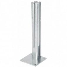 Fußplatte-Torpfosten 80x80